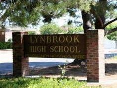 Lynbrook High School sign image