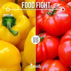 Peperoni vs Pomodori