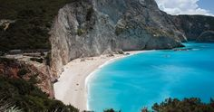 Lefkada Island - Leucas or Leucadia or Lefkas or Leukas is a Greek Island located in the west coast of Greece. Lefkada is a striking island. Nature View, Greece Islands, What A Wonderful World, Heaven On Earth, Wonders Of The World, Serenity, Places To Go, Paradise, Landscape