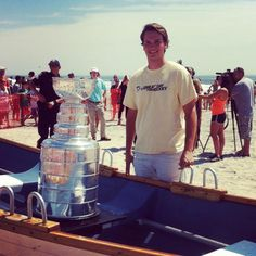 Twitter fan @mturney19 found a friend at the beach this summer. #IsItOctoberYet?