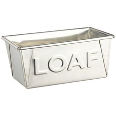 Home Comforts: John Lewis Loaf bread tin #home