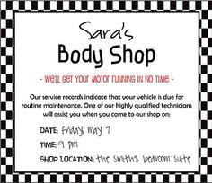 Body Shop Date Night