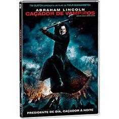 DVD - Abraham Lincoln: Caçador de Vampiros