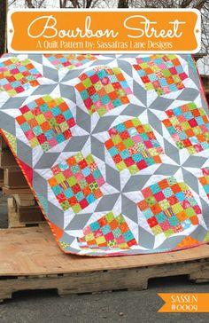 Bourbon Street Quilt Pattern