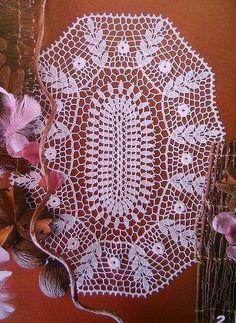 MAGIC TOUCH *** ***: lindas serviettes dans CROCHET AVEC GRAPHIQUE TROUVE EN NET.