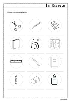 School supplies in Spanish La Escuela Activity Pack School supplies in Spanish. School supplies in School Supplies In Spanish, School Supplies List Elementary, School Supplies For Teachers, School Supplies Highschool, School Supplies Organization, I School, School Classroom, School Pack, School Items