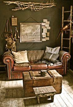 caja de madera. mesa. wooden crate. table. vintage.   www.yourbox.bigcartel.com