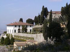 The Villa Medici is a patrician villa in Fiesole, Tuscany, Italy, the fourth oldest of the villas built by the Medici family. It was built between 1451 and 1457.