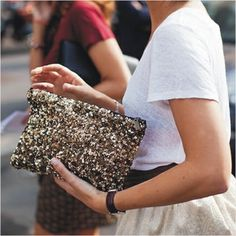 various women korean fashion bags evening bag pouch spangle clutch US $14.99