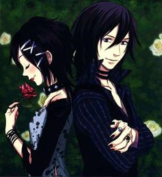 The lovers of Vampire Kisses Raven and Alexander <3 <3 <3