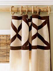 Burlap Smocked Curtains | home and decor | Pinterest | Burlap ...