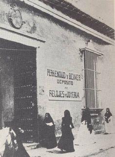 Casa natal de Simón Bolívar, a inicios del siglo XX (Caracas)