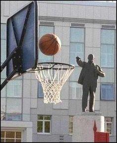 #soviet A three pointer!