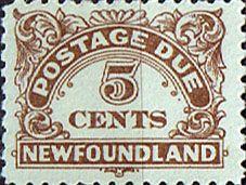 Newfoundland 1939 Post Due SG D3 Fine Mint  SG D5 Scott J5 Other Newfoundland Stamps HERE