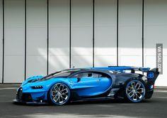 The 2016 Bugatti Vision.