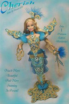 Barbie Mermaid Enchanted Fairy Diva Collector Doll Altered OOAK Custom Passion   eBay