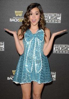 Megan Nicole at 2015 American Music Awards Radio Row Day 1...