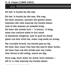 HA Fagan Afrikaans, Image Search, Poems, Yahoo Search, Quotes, Bullet Journal, Travel, Beautiful, Red