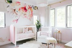 Needless to say, we are super excited to be featuring Tamera Mowry's nursery for her gorgeous baby girl, Ariah. It's all kinds of amazing with loads of on-trend details and beautiful pieces.