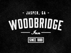 Dribbble - Woodbridge Inn Logo by Jeremy Vessey