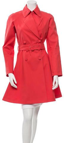 Alaïa Belted Trench Coat | #Chic Only #Glamour Always