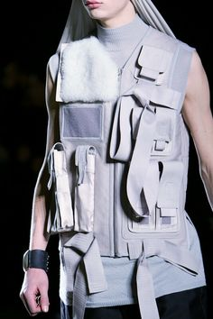 Rick Owens Fall 2014 Menswear Fashion Show Details