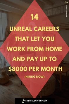 Job Discover 14 Best Work from Home Jobs that Hire Fast & Pay Good - Luster Lexicon Does making a liveable income online sound good to you? These are the 13 best work from home jobs that hire fast and pay good in Work From Home Companies, Online Jobs From Home, Work From Home Opportunities, Online Work, Ways To Earn Money, Earn Money From Home, Way To Make Money, Quick Money, Money Fast