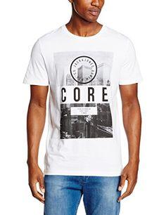 Scotch & Soda Home Alone Classic Regular Fit Tee, Camiseta Para Hombre, Gris (Antra 95), Large amazon el-azul Primavera/Verano