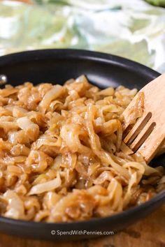 Caramelized onions are easily one of the most versatile and deliciously-sweet addition to any dish. They go great on burgers, steaks, and even in soups!