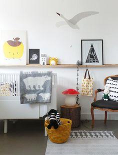 Warme wollen ledikantdeken van het Zweedse merk Klippan. Gemaakt va eco-wol. Bij webshop Ookinhetpaars/