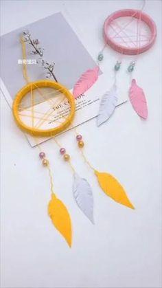 Diy Crafts For Home Decor, Diy Crafts For Gifts, Craft Stick Crafts, Creative Crafts, Craft Art, Cool Paper Crafts, Paper Crafts Origami, Fun Crafts, Diy Paper