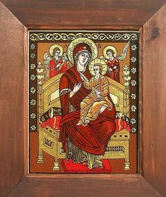 Religious Icons, Religious Art, Orthodox Icons, Madonna, Coloring Pages, Religion, Marvel, Glass, Paintings