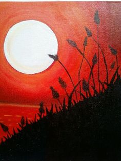 45 Easy Canvas Painting Ideas For Beginners