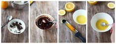 Suklainen Mirror glaze ja appelsiini-suklaakakku - Suklaapossu Candyland, Glaze, Panna Cotta, Mirror, Breakfast, Ethnic Recipes, Food, Healthy, Enamel