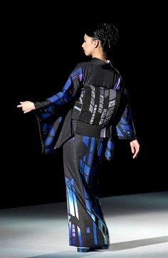 Aonokoubou Fashion Show.  Japan
