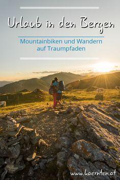In Kärntens Bergen werden Wanderer und Mountainbiker auch im Herbst mit tollen Touren verwöhnt. Du findest Wandertouren in den Hohen Tauern oder Nockbergen, am Karnischen Höhenweg oder Energiewanderungen beim Klopeiner See. Für Mountainbiker und E-Biker gibt es in den Bergen verschiedene Single Trails und Flowtrails für unterschiedliche Leistungsstufen. Lust bekommen?  #kaernten #herbsturlaub #wanderurlaub #radurlaub #urlaubinoesterreich #wandertouren #itsmylife #feelaustria #visitcarinthia It's My Life, Klopeiner See, E Biker, Bergen, Movies, Movie Posters, Hiking, Pictures, Films