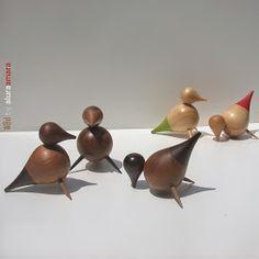 dropbird, Teak-Sonokeling woods version & Pine wood with color accent, 2012. https://plus.google.com/+AluraamaraPlus
