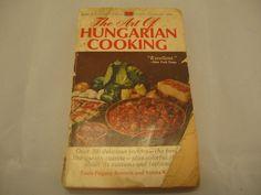 #hungarian #cooking #cookbook #vintage #books #bonanza