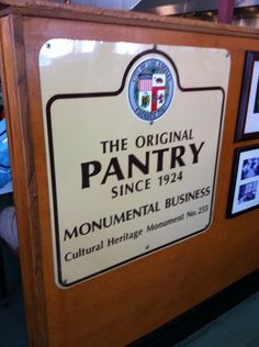 the original pantry in los angeles ca