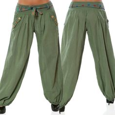 Low Waist Boho Check Pants Baggy Wide Leg //Price: $9.48 & FREE Shipping //     #house #style #art