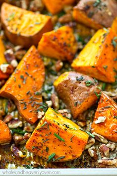 in flavorful browned butter and maple syrup, these crispy sweet potato ...