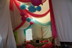 Sleepover decoration! Perfect for Autumn and her friends :)
