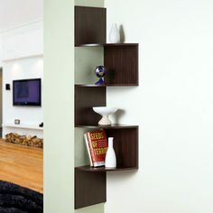 Found it at www.dcgstores.com - ♥ ♥ Hanging Corner Display Unit - 4 Shelves, Chocolate Brown Finish ♥ ♥