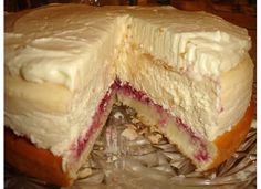 Lemon Raspberry Cream Cheesecake  (Cheesecake Factory Copy Cat)