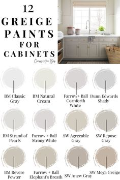 Kitchen Cabinet Colors, Painting Kitchen Cabinets, Kitchen Paint, Kitchen Redo, Kitchen Remodel, Kitchen Design, Beige Kitchen, Kitchen Ideas, Paint Colors For Home