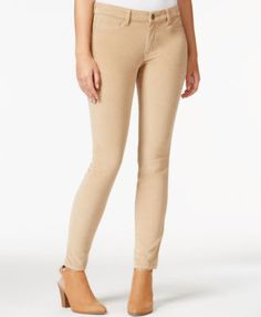 Maison Jules Corduroy Skinny Pants, Only at Macy's