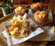 奶油奶酪和酸奶蔓越莓松饼配方