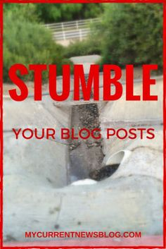 #StumbleUpon Can Dramatically Help Increase Page Views. Click to see how. MostlyBlogging.com