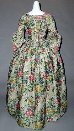 Dress Date: 1750–75 Culture: British Medium: silk Accession Number: 34.108