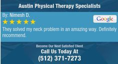 They solved my neck problem in an amazing way. Definitely recommend.